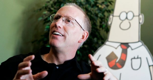 Scott Adams Has Some Ideas for a Calmer Internet
