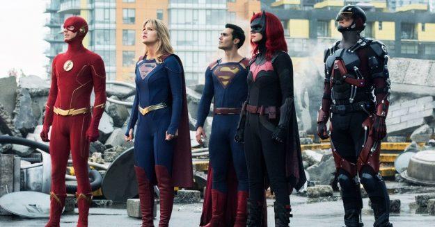 The CW's 'Crisis on Infinite Earths' Puts a Gen X Headlock on Superhero TV