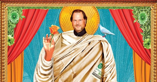 The Gospel of Wealth According to Marc Benioff