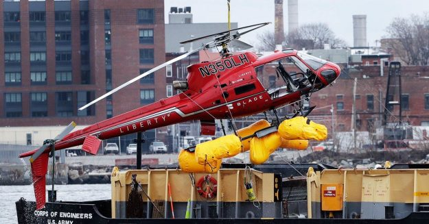 Feds Call Helicopter That Crashed in NYC River a 'Death Trap'