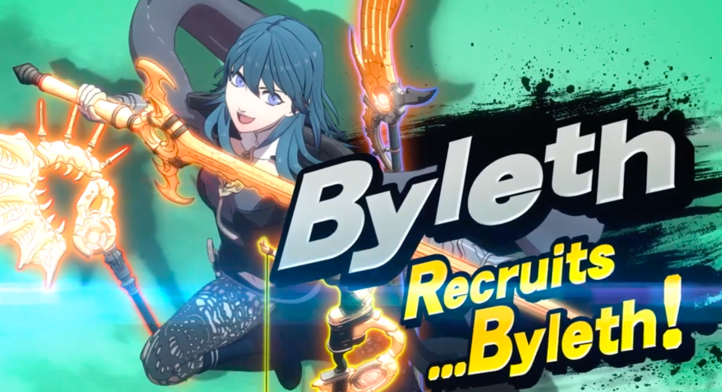 Byleth from Fire Emblem: Three Houses joins Smash Bros ...