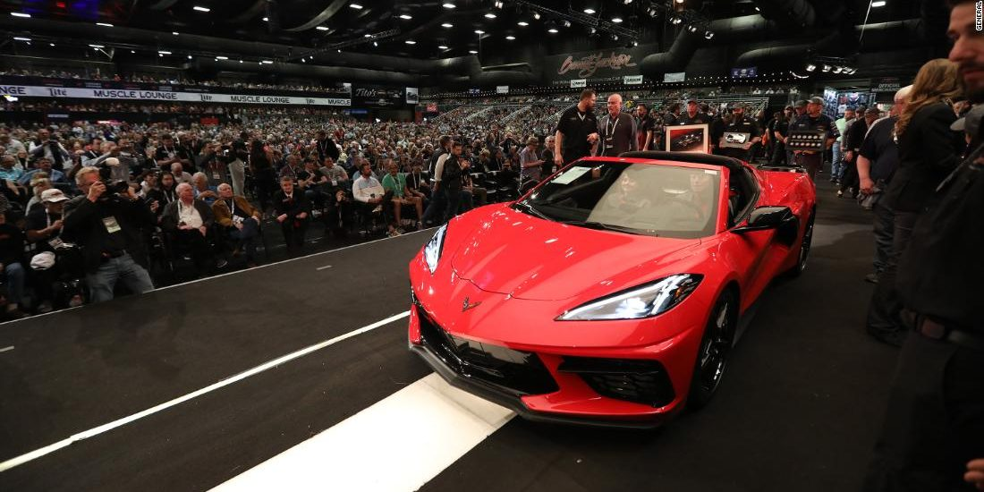 First new 2020 Corvette auctioned for $3 million
