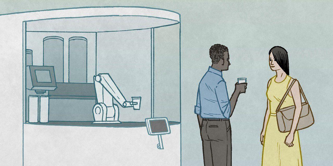 Today's Cartoons: Robot Barista
