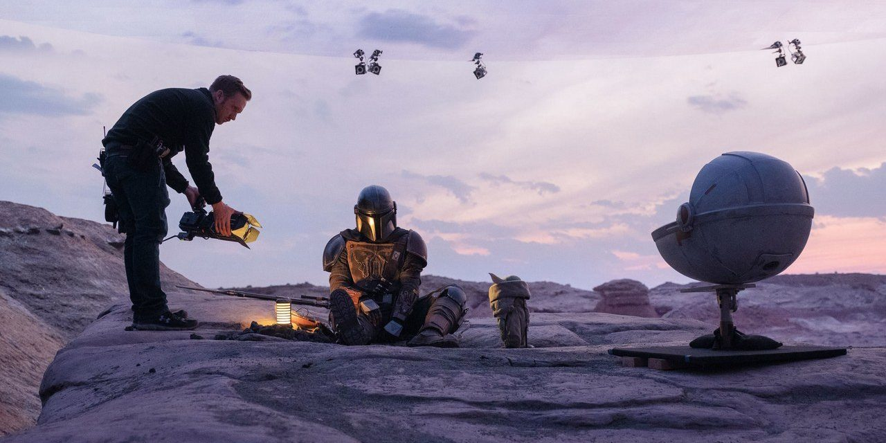 ILM Used 'Fortnite' Tech to Make Virtual Sets for 'The Mandalorian'