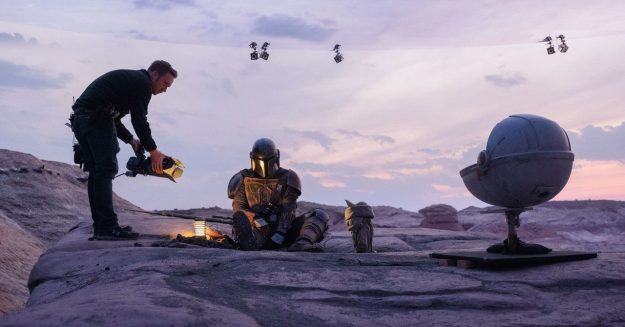 ILM Used 'Fortnite' Tech to Make Virtual Sets for 'The Mandalorian'