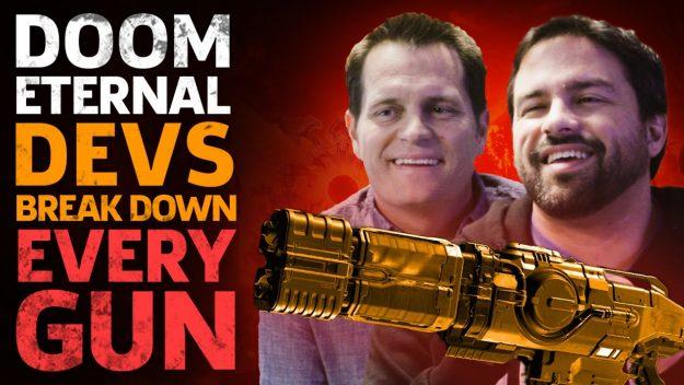 Doom Eternal Devs Break Down Every Gun