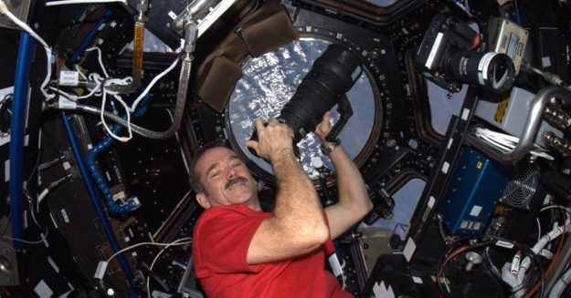 How to survive self isolation, according to an astronaut