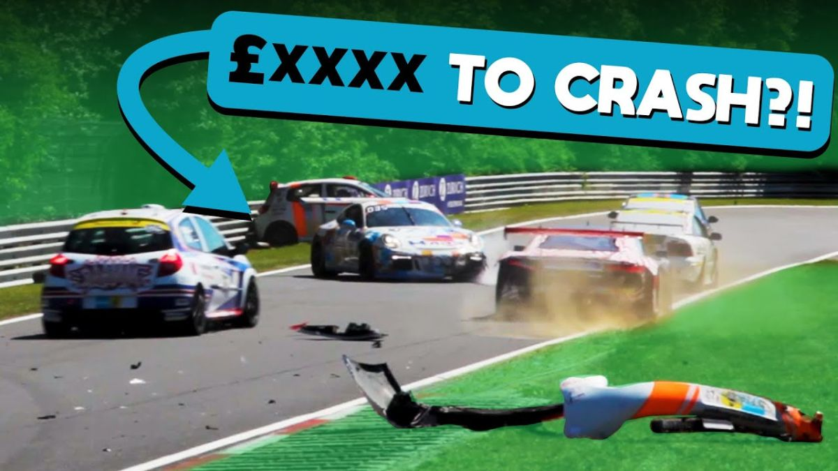 It Costs So Much Money To Crash On The Nürburgring