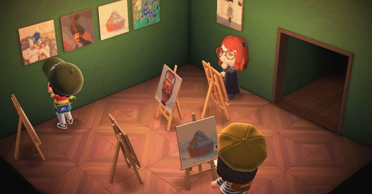 Getty now has an Animal Crossing: New Horizons art generator