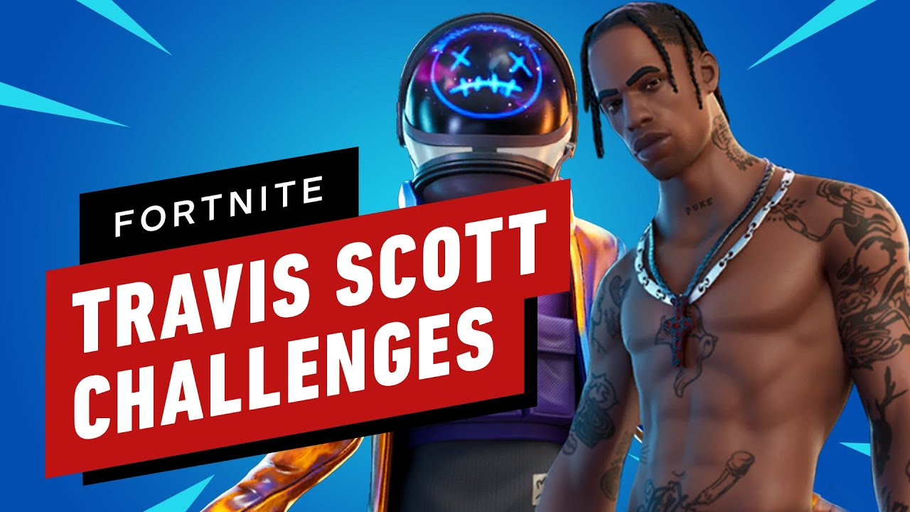 How to Get Free Fortnite x Travis Scott Astronomical Event Rewards