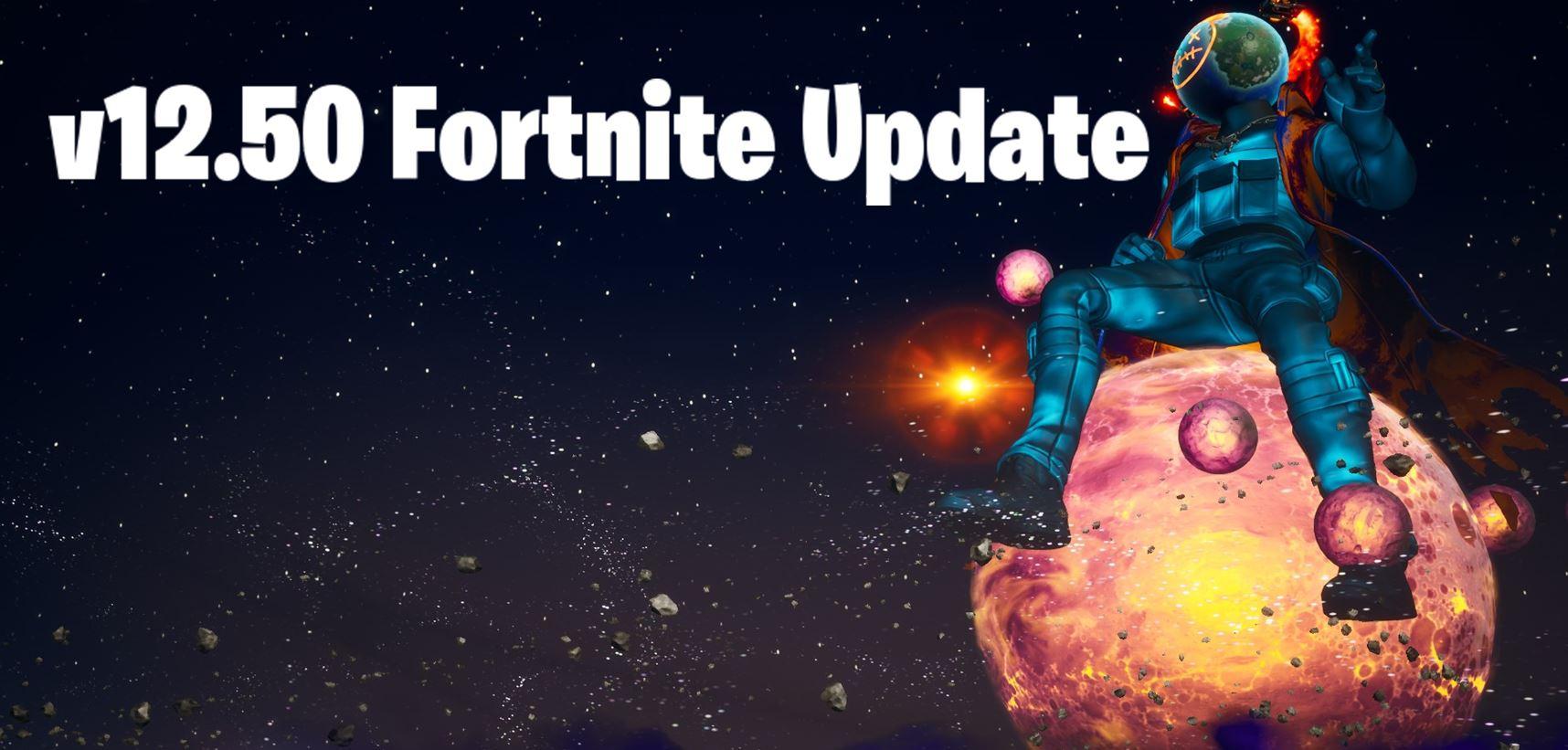 New Fortnite Update v12.50