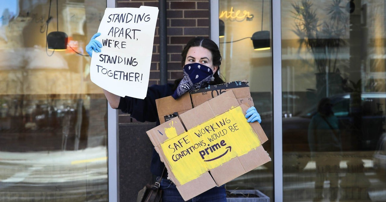 Amazon, Instacart, Target Workers Unite for May Day Strike