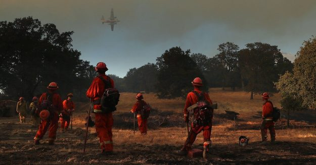 Wildfires Already Threaten the West. Then Came Covid-19