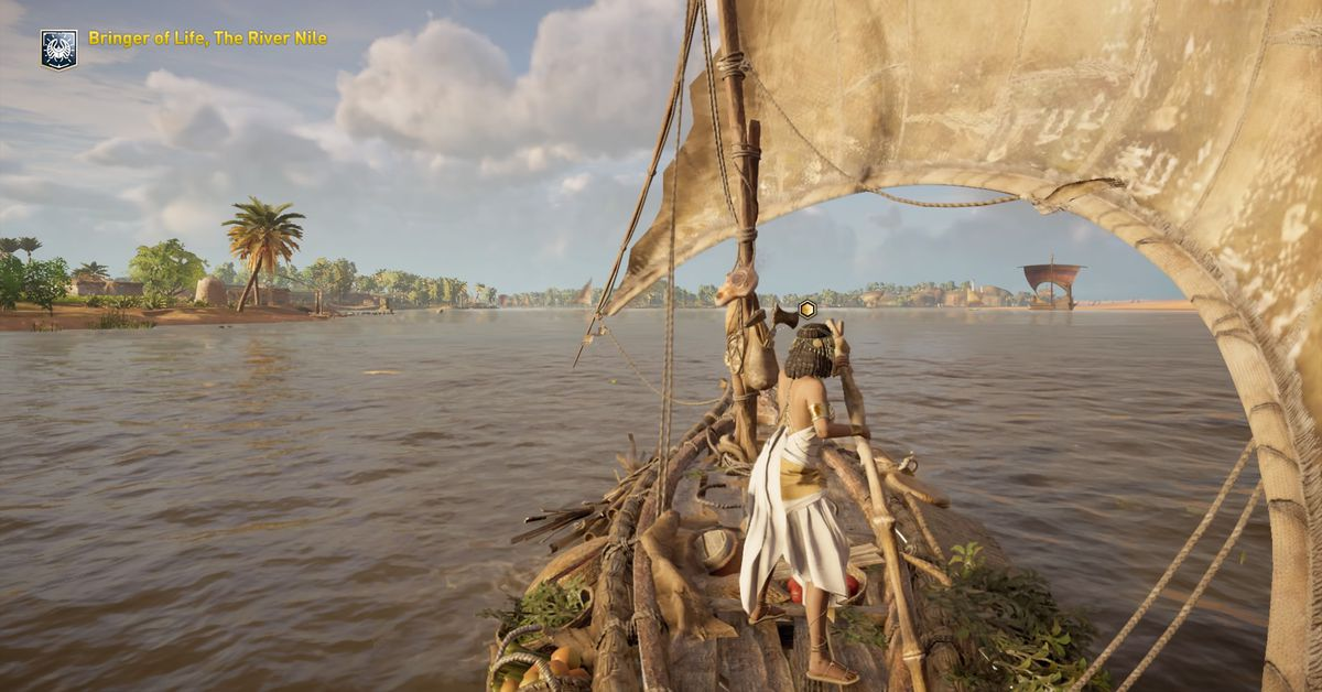 Ubisoft now giving out its Assassin's Creed educational tours of Greece and Egypt for free