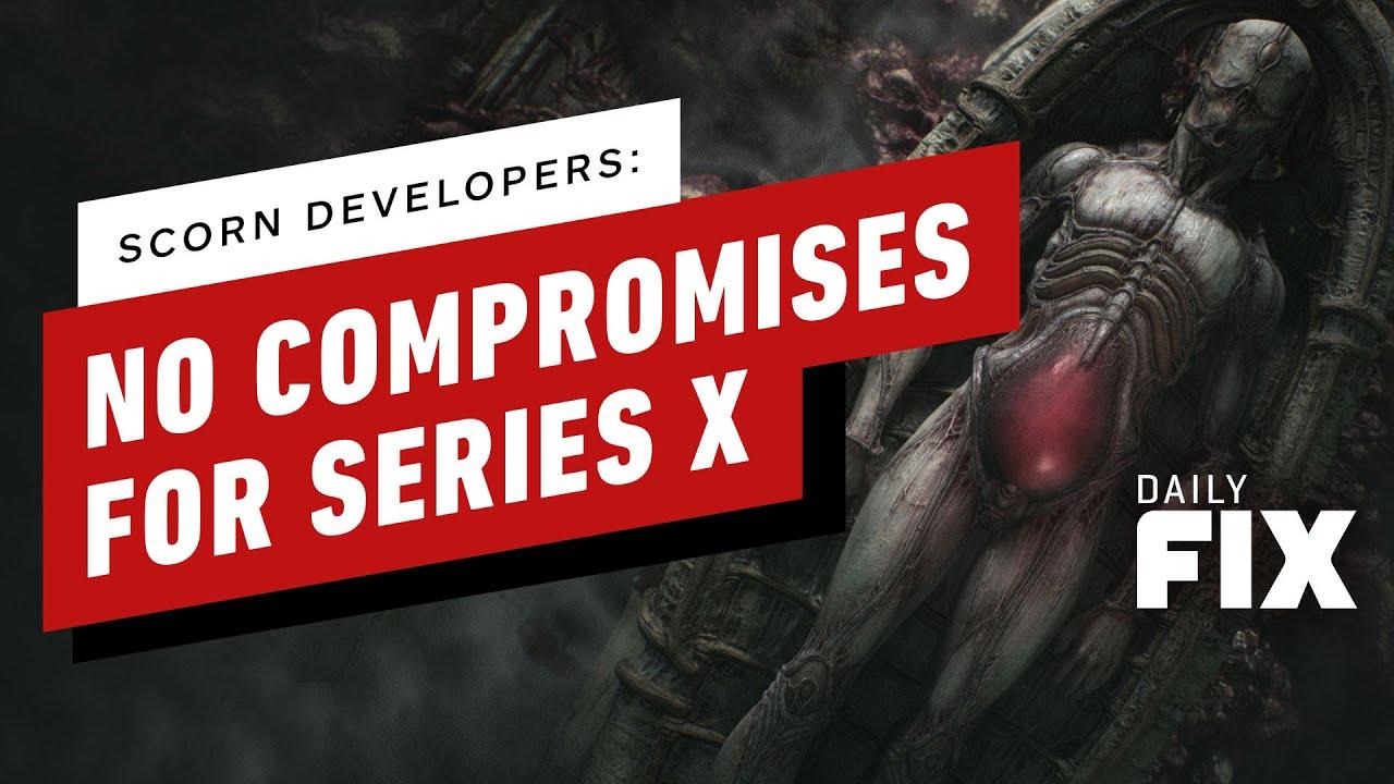 Xbox Series X Hardware Upgrades Bring Scorn To Console, Says Dev