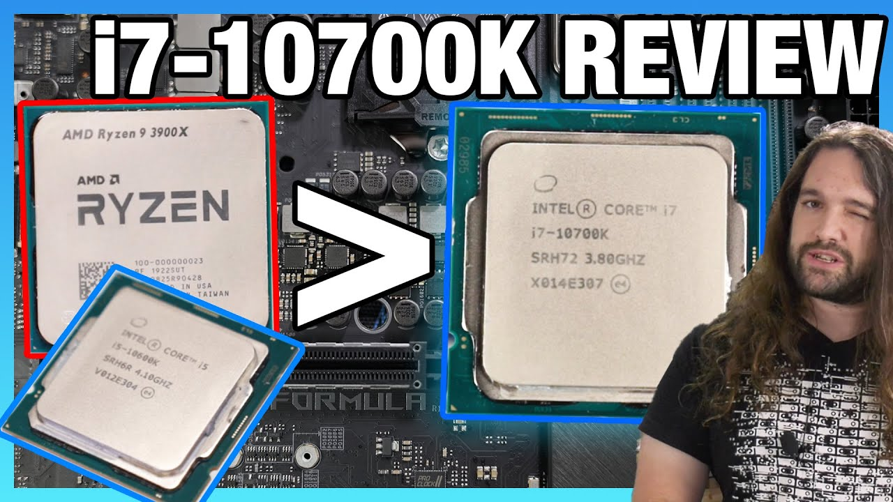 Intel Core i7-10700K CPU Review & Benchmarks: Gaming, Overclocking vs. 3700X, 3900X, More