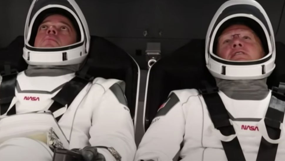 SpaceX astronaut crew blasted AC/DC and Black Sabbath to kick off mission