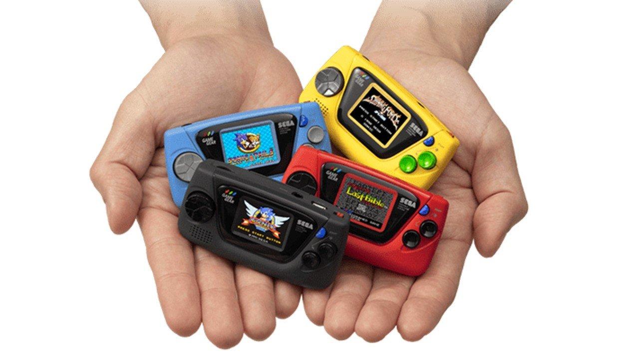 Sega's Game Gear Micro Was Originally Going To Be Even More Stingy