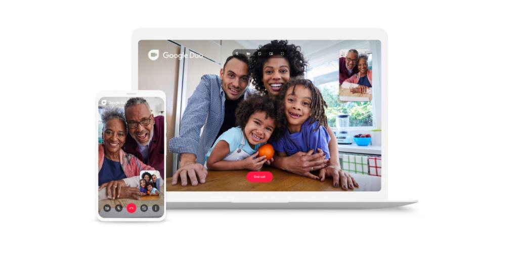 Google Duo rolling out web group calls for up to 32 people