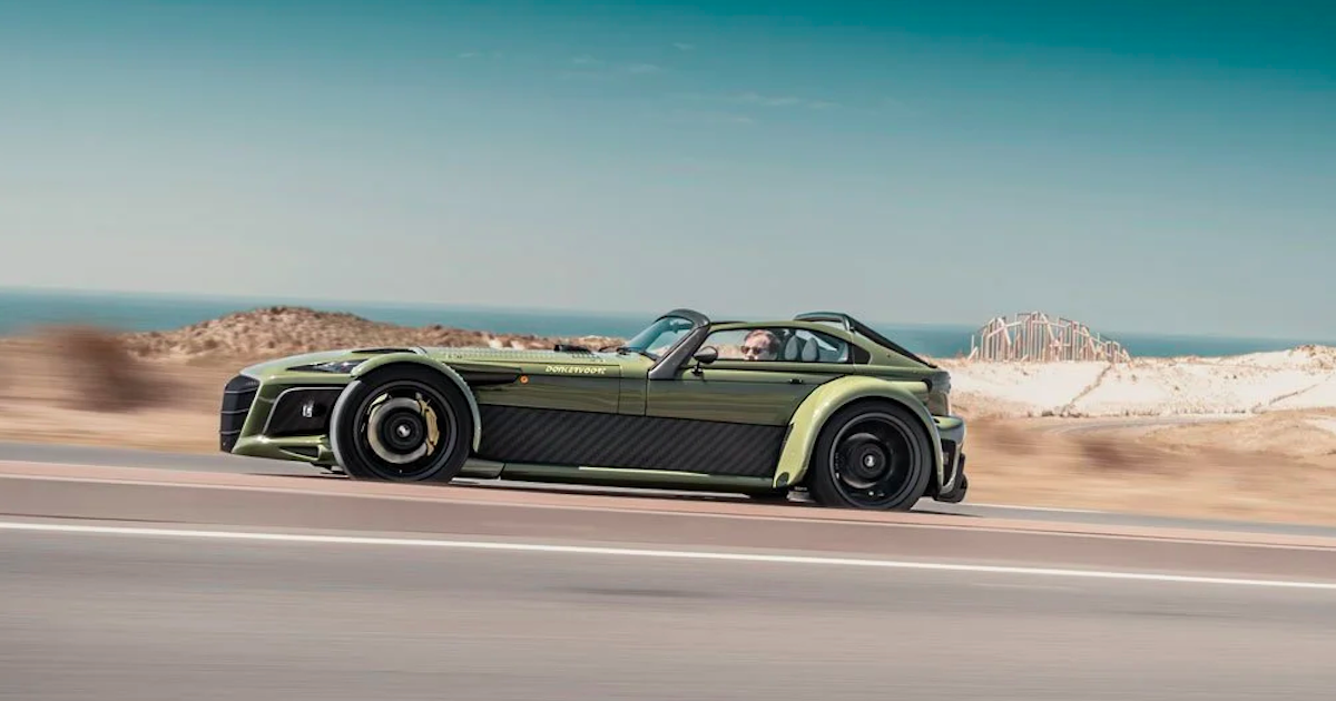Donkervoort's D8 GTO-JD70 generates 2 G's of lateral grip on street tires