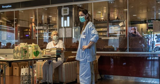 Inside the Milan Hotel That Housed Covid-19 Patients
