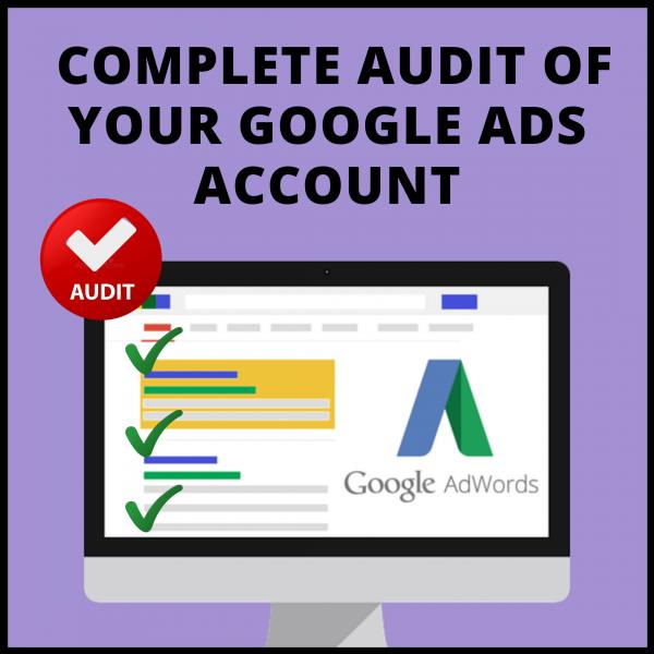 Google Ads Help - Complete Audit